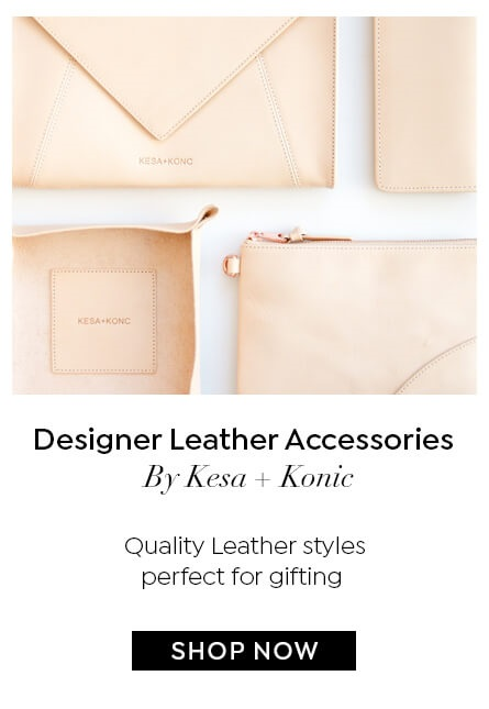 SHOP LEATHER ACCESSORIES