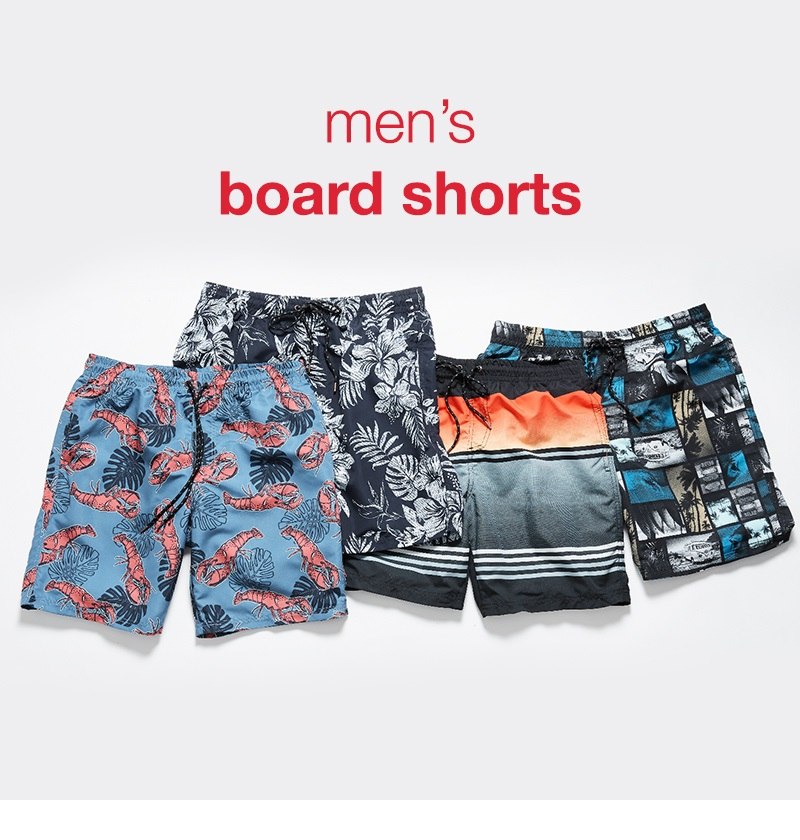 Shop men's board shorts