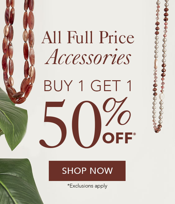 BOGO 50% Off Accessories