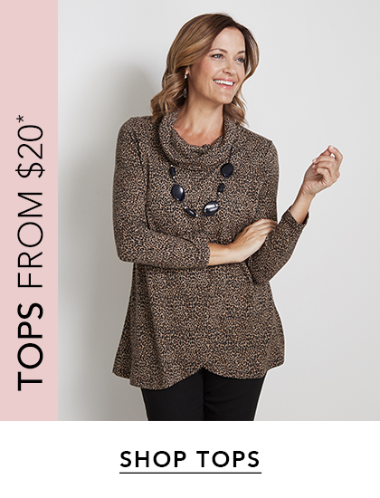 Tops from $20