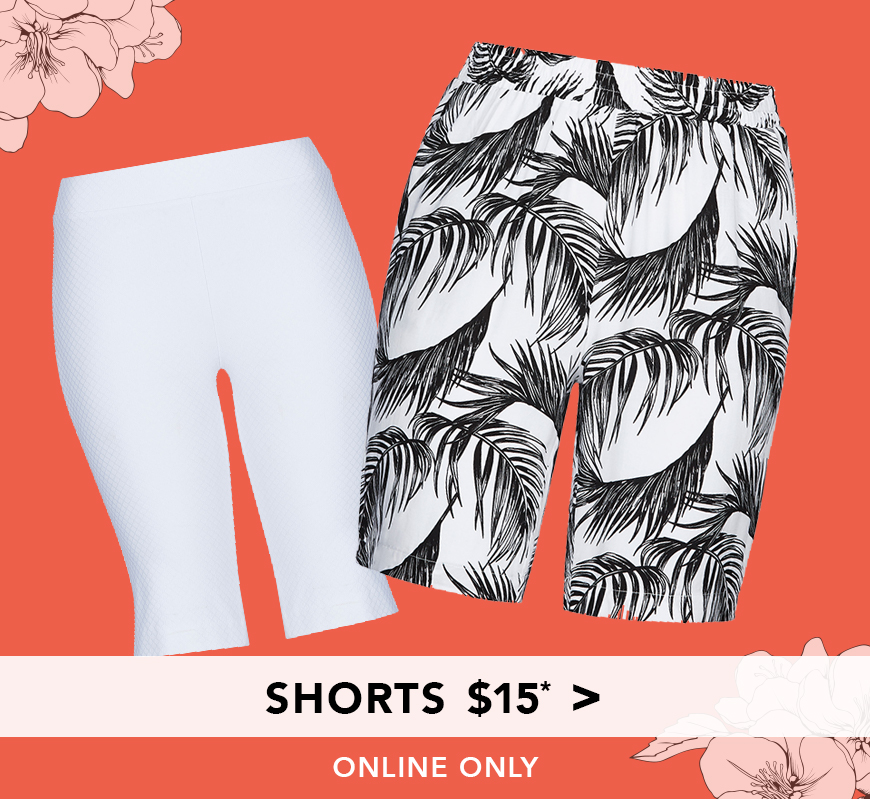 All Shorts $15