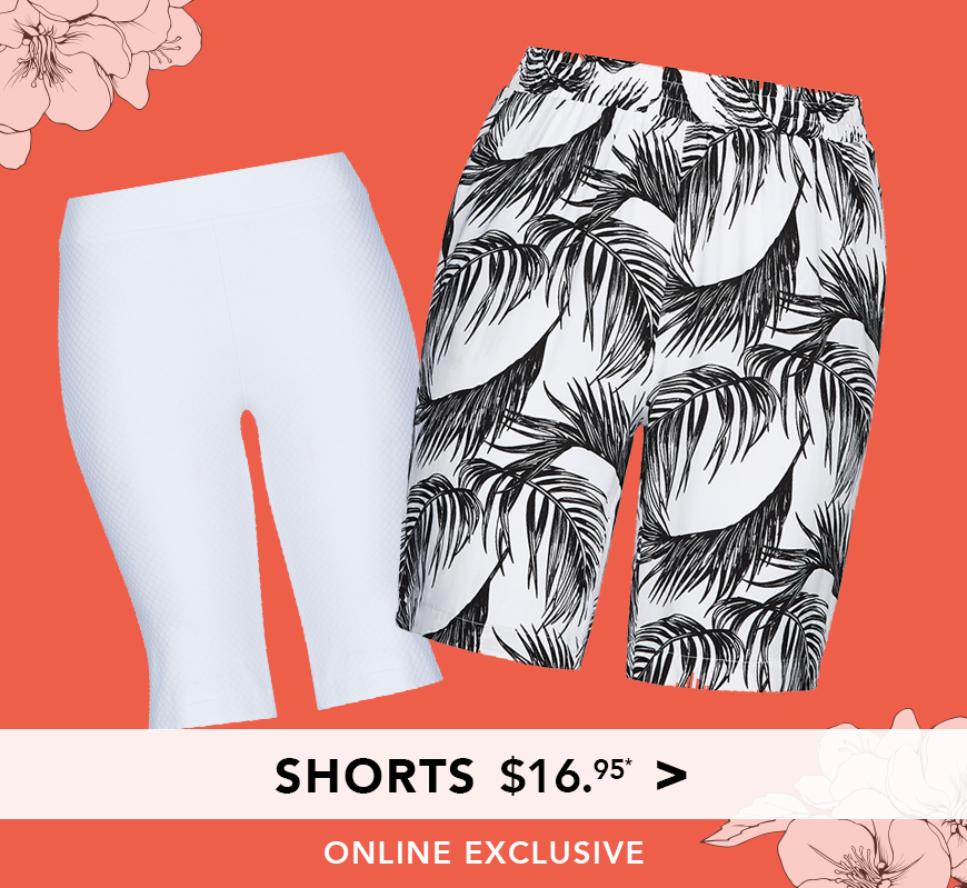 All Shorts $16.95