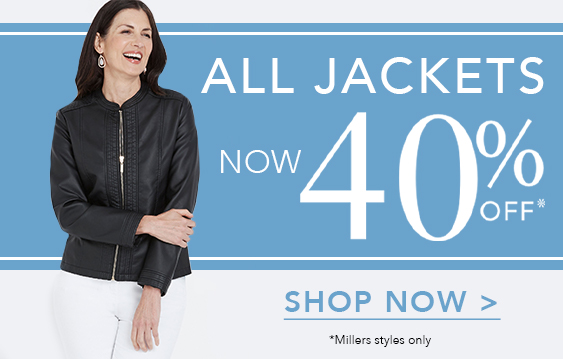 40% Off Jackets