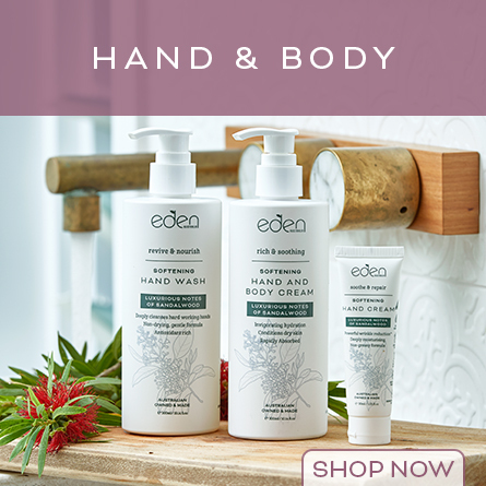 Shop Eden Hand & Body