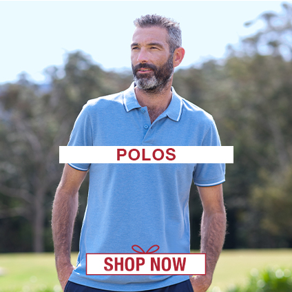 Gift Ideas for Him: Polos