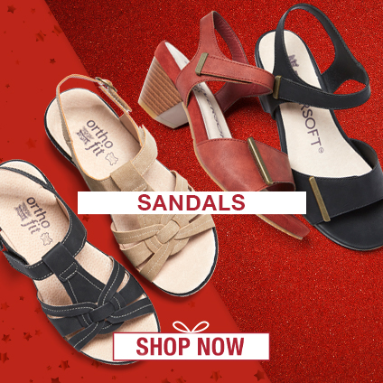 Gift Ideas for Her: Sandals