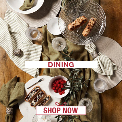 Gift Ideas for the Home: Dining
