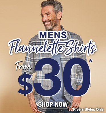 Men's Flannelette Shirts