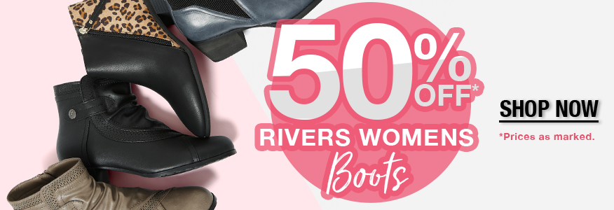 50% Off Womens Boots