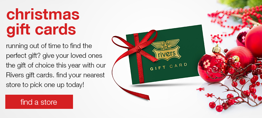 Rivers Christmas Gift Cards