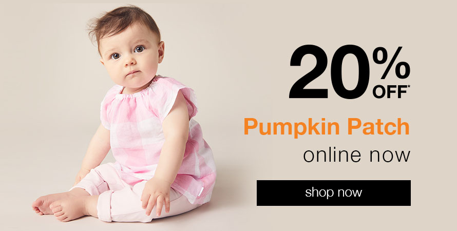Pumpkin Patch 20% off