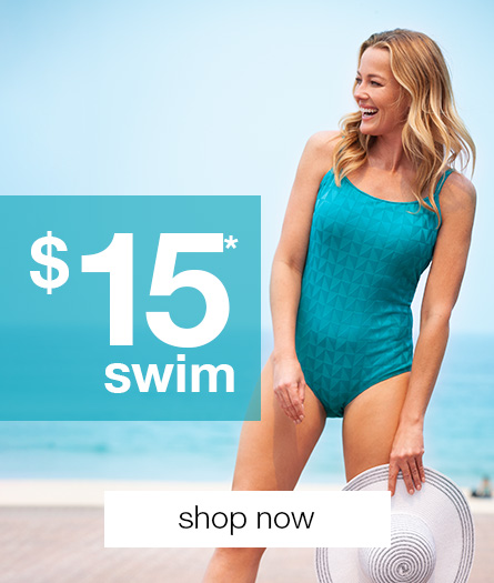 Shop Women's Swimwear at $15