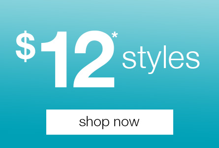 Styles from $12 at Rivers