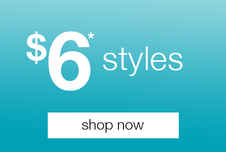 Styles from $6 at Rivers