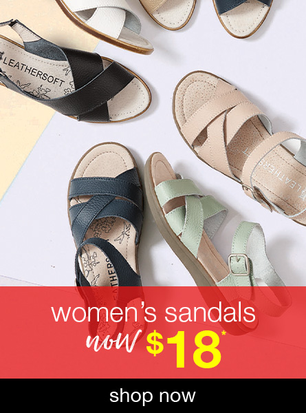 All Women's sandals now $20