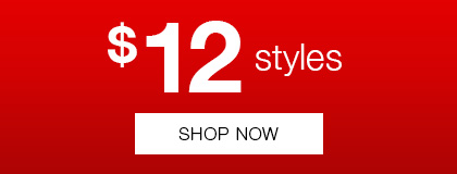 $12 styles at Rivers