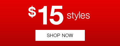 $15 styles at Rivers
