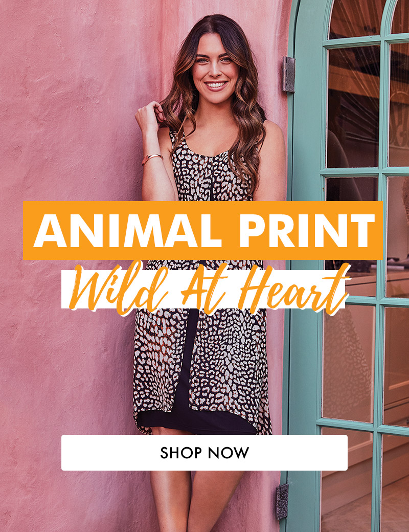 Shop Animal Print At Rockmans